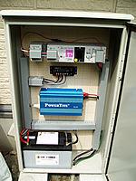 風力/ソーラーハイブリッド独立電源システム