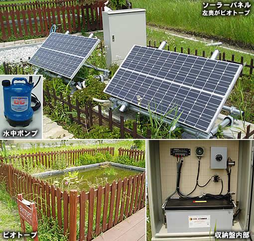 明海大学環境サークル・ソーラー独立電源システム(千葉県新浦安)