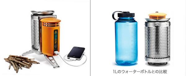 BioLite 製品外観とサイズ比較